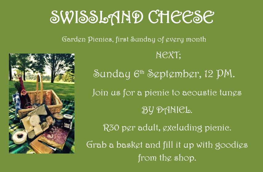 Garden Picnic @ Swissland Cheese @ Swissland Cheese | KwaZulu-Natal | South Africa