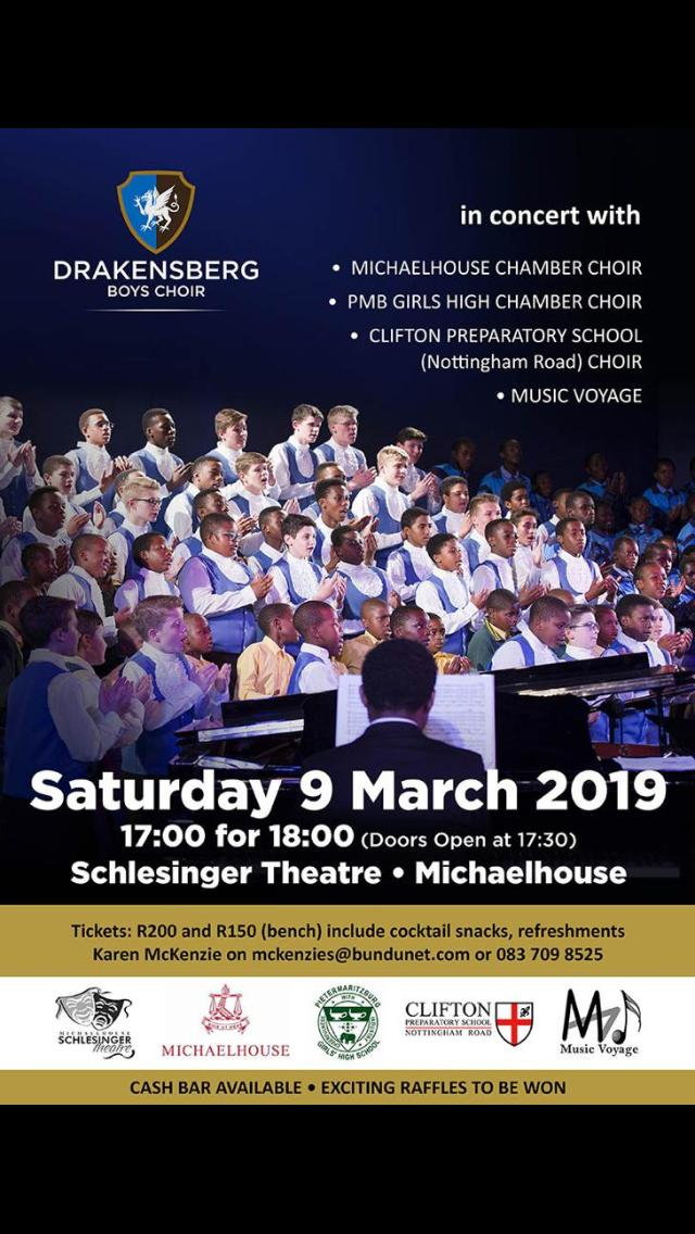 Drakensberg Boys Choir @ MichaelHouse School